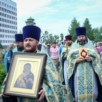 Богородице-Владимирский приход отметил престольный праздник