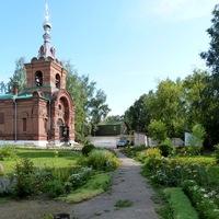 Детская площадка на территории храма станет местом семейного отдыха микрорайона Спичфабрики