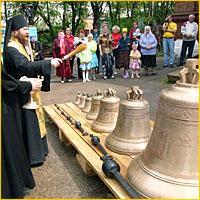 Ещё один храм в Томске обрёл свой голос!