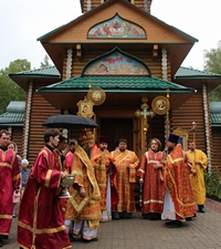 Митрополит Ростислав совершил Литургию в селе Кандинка