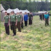 Начался летний сезон учебно-тренировочных сборов «Томская застава»