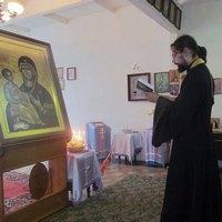 В село Анастасьевку принесена афонская икона «Троеручица»