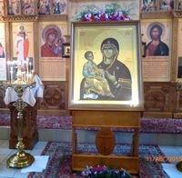 Принесение иконы «Троеручица» в с. Октябрьское