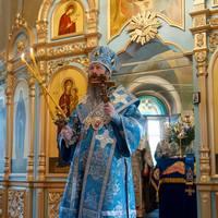 Архиерейское служение в праздник  Успения Пресвятой Богородицы
