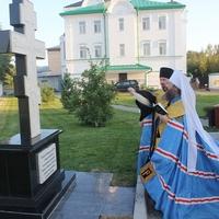 В Богородице-Алексиевском монастыре установлен крест в память о всех погребенных на монастырском погосте