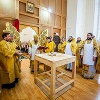Митрополит Ростислав совершил великое освящение храма св. благоверного князя Александра Невского