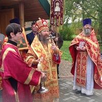 Митрополит Ростислав совершил Литургию в Борисоглебском храме с.Корнилово