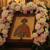 Митрополит Ростислав совершил всенощное бдение в храме благоверного князя Александра Невского г.Томска