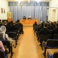 В Томской духовной семинарии прошёл Актовый день