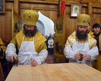 В Богородице-Алексиевском монастыре совершено великое освящение храма Казанской иконы Божией Матери