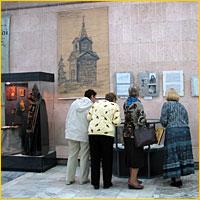 В г.Северске открылась выставка, посвященная истории  Богородице-Алексиевского мужского монастыря г. Томска