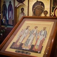 В праздник Обрезания Господня митрополит Ростислав совершил Литургию в Богородице-Алексиевском монастыре