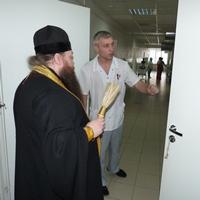 Освящено новое отделение реанимации Городской больницы скорой медицинской помощи