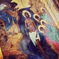 Митрополит Ростислав совершил Божественную литургию и чин великого водоосвящения в Богоявленском соборе Томска