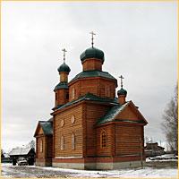 В селе Александровском освящен новый храм