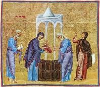 В праздник Сретения Господня митрополит Ростислав совершил Литургию в Богоявленском соборе Томска