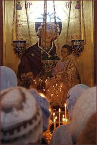 Сегодня Церковь совершает празднование в честь Иверской иконы Божией Матери
