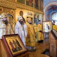 Преосвященные и священники трёх сибирских епархий молитвенно совершили память святителя Макария