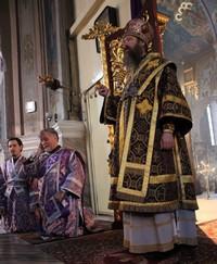 Архиерейское служение в день памяти 40 севастийских мучеников