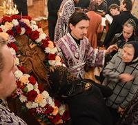 Митрополит Ростислав совершил Всенощное бдение с чином выноса Креста