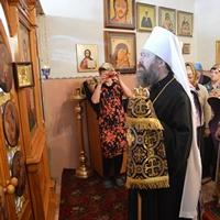 В Неделю Крестопоклонную Митрополит Ростислав совершил Литургию в посёлке Светлый