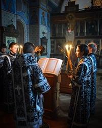 Митрополит Ростислав совершил последование Пассии в Богоявленском кафедральном соборе
