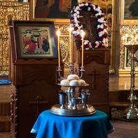 В канун праздника Благовещения Пресвятой Богородицы митрополит Ростислав совершил Всенощеное бдение в Богоявленском кафедральном соборе Томска