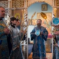 Архиерейское служение в праздник Благовещения Пресвятой Богородицы