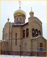 В селе Новониколаевка Асиновского района освящен новый храм.