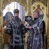 Митрополит Ростислав совершил последнюю Преждеосвященную Литургию Великого поста