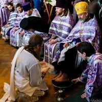 Архиерейское служение в Великий четверг