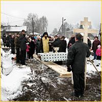 В селе Наумовка Томского района начинается строительство храма