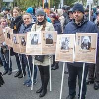 В «Бессмертном полку» пронесли портреты священников-фронтовиков