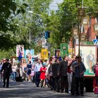 Крестный ход стал самым ярким событием Кирилло-Мефодиевских чтений в Томске
