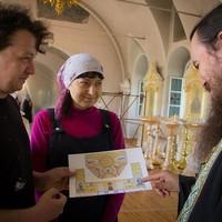 Мастера из Владимира приступили к росписи алтаря Воскресенской церкви