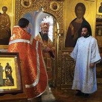 За воскресной Божественной литургией митрополит Ростислав совершил иерейскую хиротонию студента 3 курса ТДС