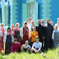 Участники приходской фольклорной студии дали концерт в с.Петухово