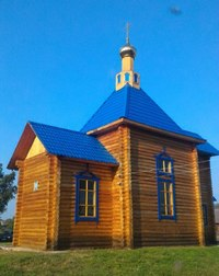 Митрополит Ростислав освятил храм в с. Берегаево Тегульдетского района