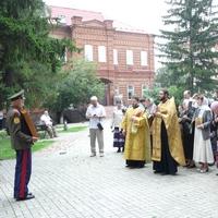 В Томске совершен молебен Царственным мученикам