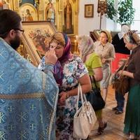 Икона Божией Матери «Всецарица» принесена в храм Александра Невского