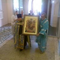 До 6 сентября икона Богородицы «Всецарица» будет пребывать в храме при ТКПБ