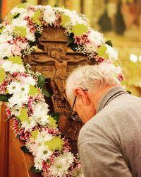 В кафедральном соборе Томска был совершен чин Воздвижения Креста