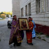 Икона Божией Матери «Всецарица» принесена в Академгородок