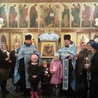 «Всецарица» принесена в храм преподобного Сергия Радонежского