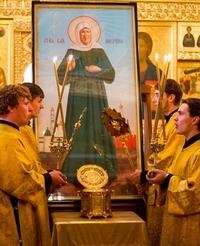В Томск будут принесены мощи св. блаженной Матроны Московской