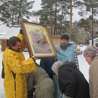 Икона Божией Матери «Всецарица» принесена в с. Кандинка