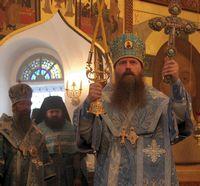 Архиереи Томской митрополии возглавили торжества в Казанском храме г.Томска