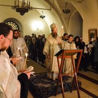 Митрополит Ростислав возглавил заупокойную Утреню в кафедральном соборе Томска