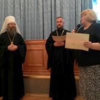 Митрополит Ростислав вручил удостоверения о повышении квалификации слушателям курсов, организованных Московским институтом открытого образования