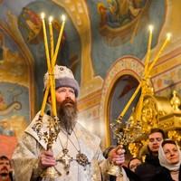 Архиерейское служение в праздник Рождества Христова
